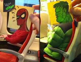 De trein saai? Echt niet!